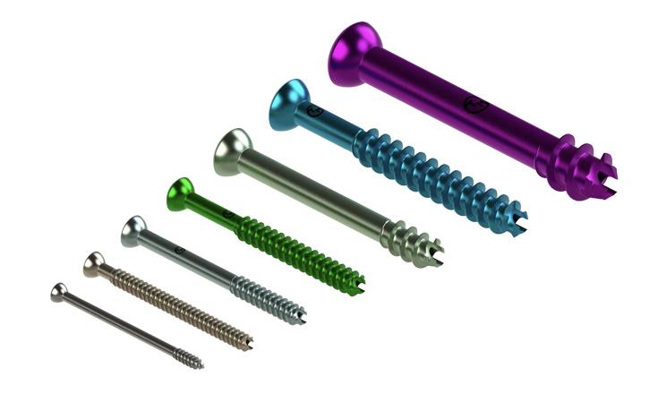 headed screws